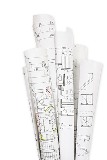 Architecture blue prints